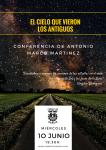 confeerencia en Fomento de Antonio Marco Martinez