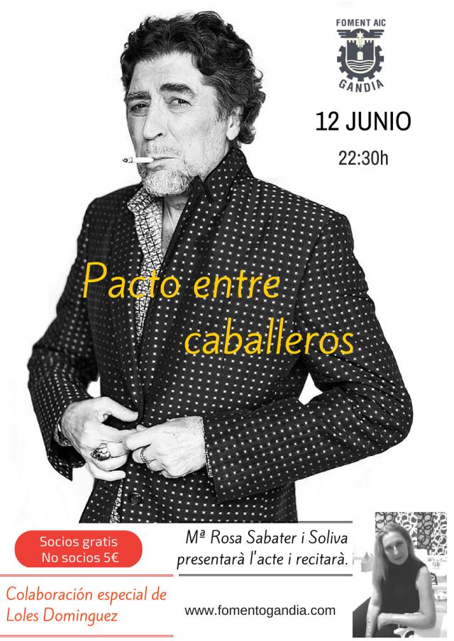 Tributo a Joaquin Sabina en Fomento Gandia.